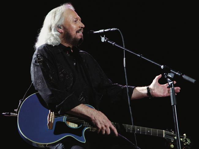 Barry Gibb has opened up about a shocking incident when he was four. Picture: Supplied