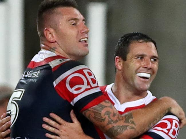 Roosters rule Rabbitohs in Ron Coote Cup