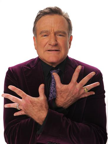 Actor Robin Williams poses for a portrait during the 35th Annual People's Choice Awards held at the Shrine Auditorium on January 7, 2009 in Los Angeles, California. Picture: Getty