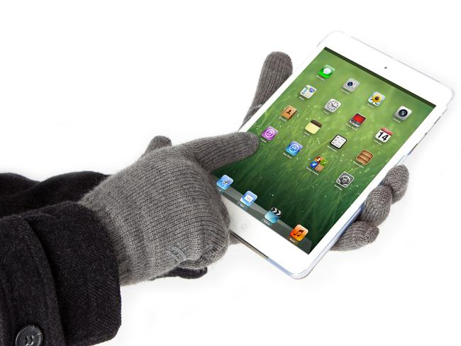 Moshi Digits smart gloves will keep you warm as you use a touchscreen. Picture: Supplied