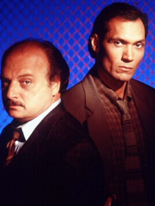 Replaced ... Jimmy Smits came on as Dennis Franz's partner on NYPD Blue and the ratings didn't suffer. Picture: Supplied