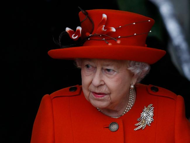 Queen Elizabeth II has banned plastics from the royal palaces. Picture: AFP/Adrian Dennis