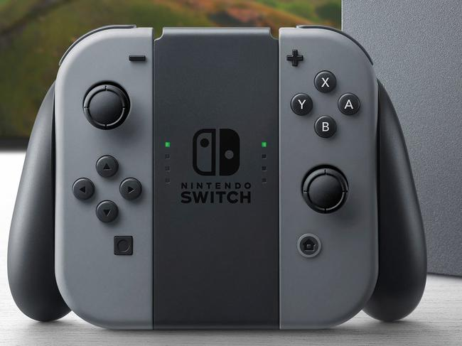 The Nintendo Switch console. Source: Supplied.