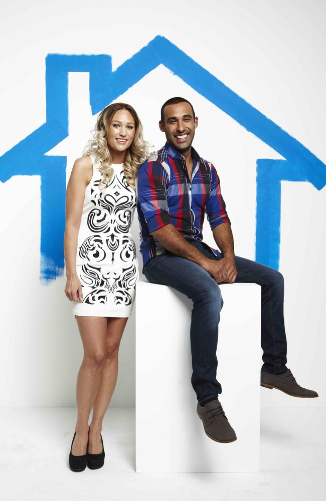 <i>House Rules</i> finalists Lisa and Adam.