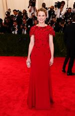 """Marissa Mayer, president and CEO of Yahoo!, attends the Met Gala 2015 """"China: Through The Looking Glass"""". Picture: Getty"""