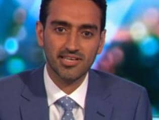Waleed Aly The Project talks about Karl Stefanovic. Picture: Channel 10
