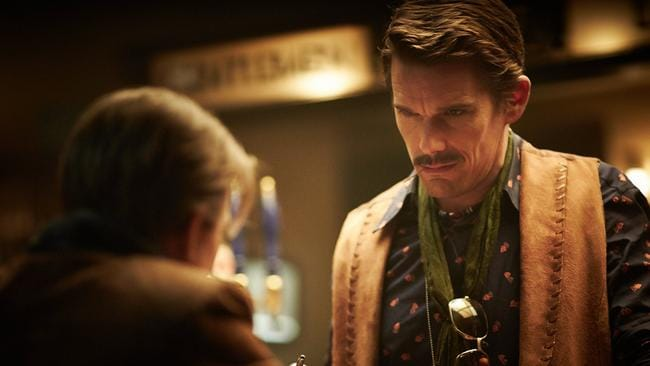 Too late? ... Ethan Hawke in a scene from Predestination.