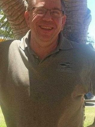 Bruce Saunders was tragically killed when he fell into a wood chipper. Picture: Supplied
