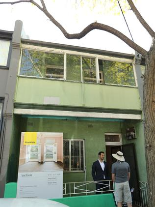 Exterior of the renovator's delight.