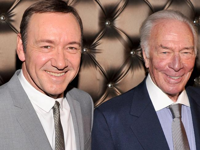 Christopher Plummer has replaced Kevin Spacey as John Paul Getty in  <i>All The Money in the World</i>. Picture: AFP