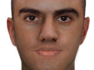 Victoria Police release image of a man they wish to speak to relating to fatal shooting murder