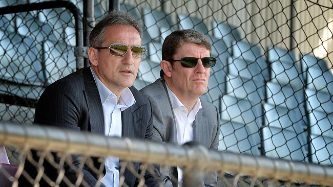 Txiki Begiristain and Brian Marwood oversaw Manchester City's purchase of Melbourne Heart