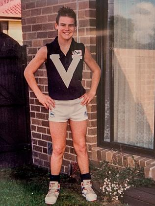 Cameron Baird had dreams of becoming an AFL player.