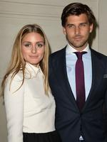Newlyweds Olivia Palermo and Johannes Huebl attend the Valentino show as part of Paris Fashion Week - Haute Couture Fall/Winter 2014-2015. Picture: Getty