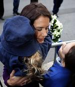 <p>Opening Ceremony of the Victor Chang Lowy Packer Building in Sydney by Crown Princess Mary of Denmark . Princess Mary hugs a year two student from Darlinghurst Public School. Pic: Stephen Cooper</p>