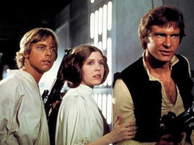 Star Wars has always been about the battle between good and evil — but what if there was a middle ground? Picture: AP