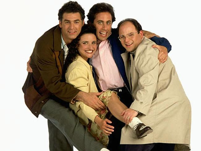"""Jerry is still good mates with his """"Seinfeld"""" pals: Michael Richards, Julia Louis Dreyfus"""