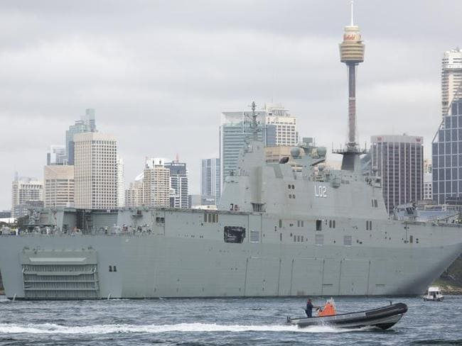 Green energy: Royal Australian Navy will convert its vessels so they can run on biofuel.