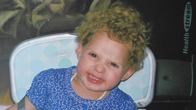 Chloe Valentine died in 2012 after repeatedly being forced to ride a 50kg motorbike in her back yard.