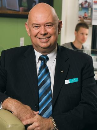 Defending upgrades ... Centrelink general manager Hank Jongen.