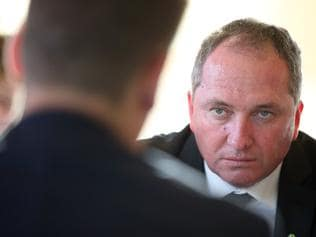 On the Road With Barnaby Joyce