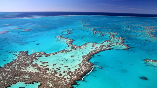 The Great Barrier Reef. Photo: Supplied.