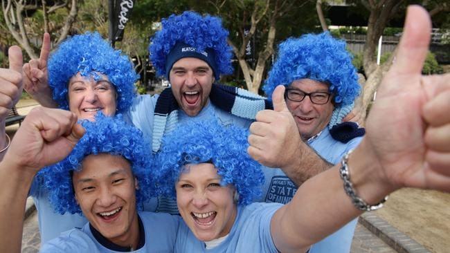 NSW fans have been hailed as 'incredible' by Daley and the team