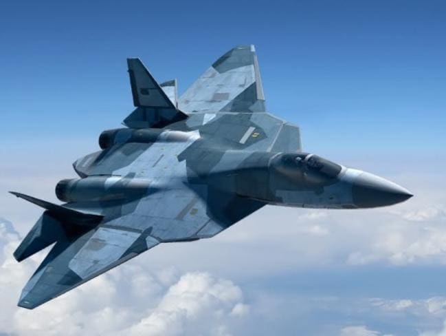 Next generation ... the PAK FA T-50 Stealth Fighter. Source: Supplied