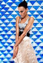 <p>Rachael Finch, BIG W store fashion campaign, 2009.</p>