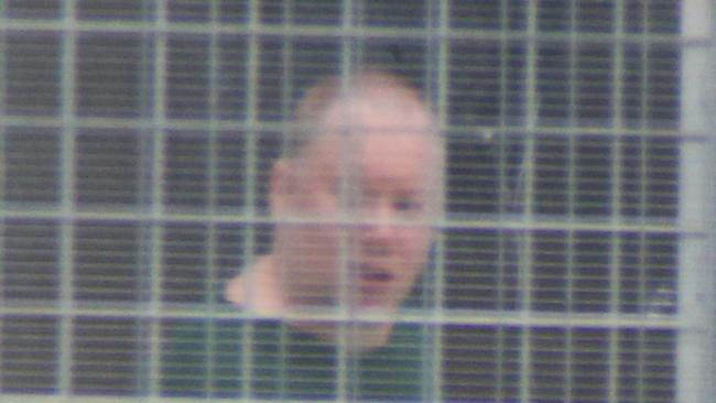 Port Arthur gunman Martin Bryant pictured in Risdon Prison, Hobart. Picture: Gary Ramage