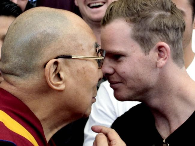 Smith's question to the Dalai Lama