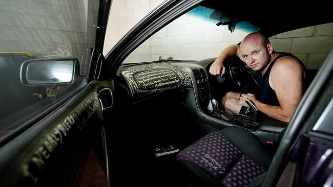 """Mark Dixon, """"Chopper"""" Read's former bodyguard, says Read made up his deathbed confession. Picture: Mark Calleja"""