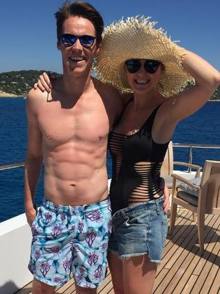 Roxy Jacenko with husband Oliver Curtis.