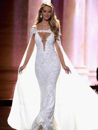 Miss USA 2015, Olivia Jordan. Picture: Getty