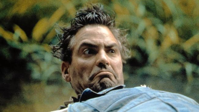 George Clooney plays the fool in O Brother, Where Art Thou?