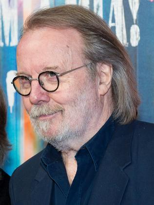 Benny Andersson at the restaurant opening. Picture: AFP
