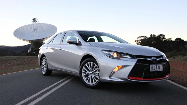The Toyota Camry had fuel efficiency Ford and Holden could not match. Picture: Joshua Dowling.