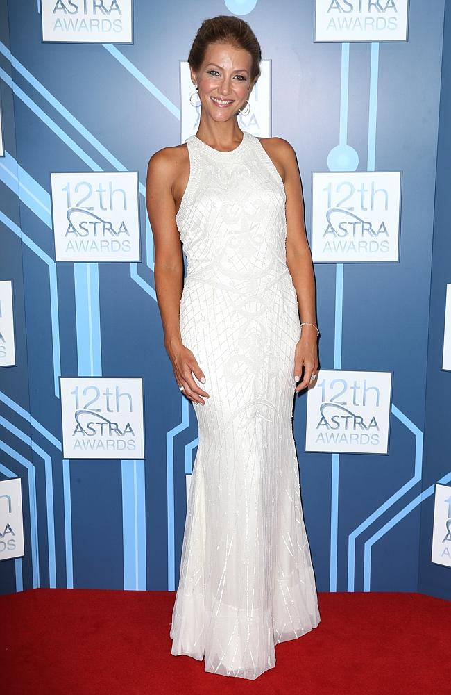 Jaynie Seal at the 2014 ASTRA Awards held at Carriageworks in Sydney. Picture: Getty IMages
