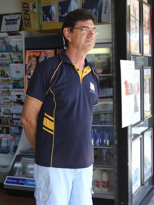 Kedron newsagent Roman Bagajluk recalled a proud grandfather.