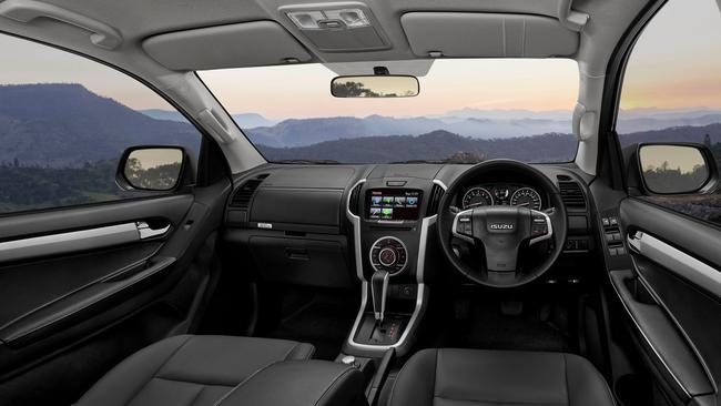 Premium: the D-Max LS-T flagship is well kitted but comes with $54,700 price tag.