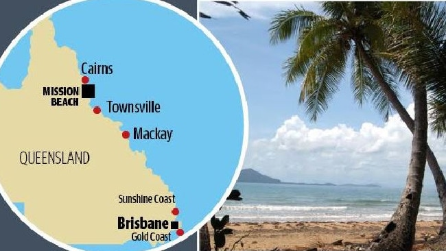 Three killed in skydiving incident at Mission Beach, North Queensland.