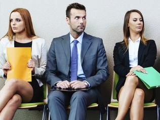 Business people waiting for job interview Job interviews ... Picture: Thinkstock