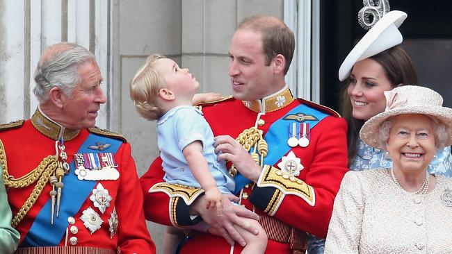 A large number of Brits favour Prince William and his family over Prince Charles. Picture: Chris Jackson