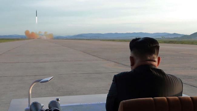 Hawaii is concerned about North Korea's missile tests. Picture: AFP.