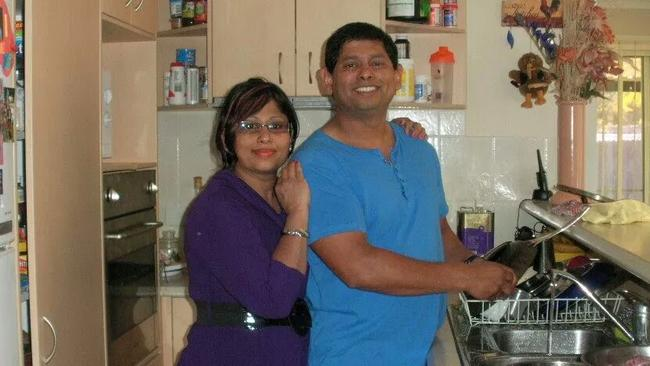 Nasreen Rahman and her brother Shameem Rahman.