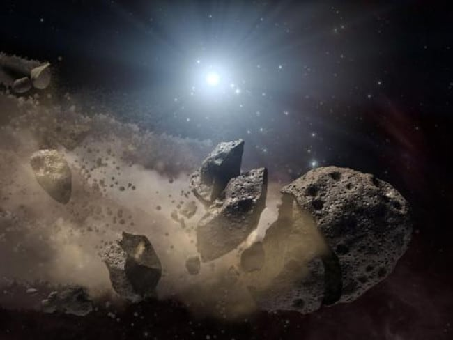 Two sky surveys are attempting to provide early warning of asteroids incoming to Earth: The NASA Scout warning system, designed to find small objects, and the Sentry survey, looking for larger, more damaging, asteroids. Picture: NASA/JPL-Caltech