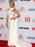 Sandra Sully arrives at the 2014 Logie Awards at Crown Palladium on April 27, 2014 in Melbourne, Australia. (Photo by Robert Prezioso/Getty Images)
