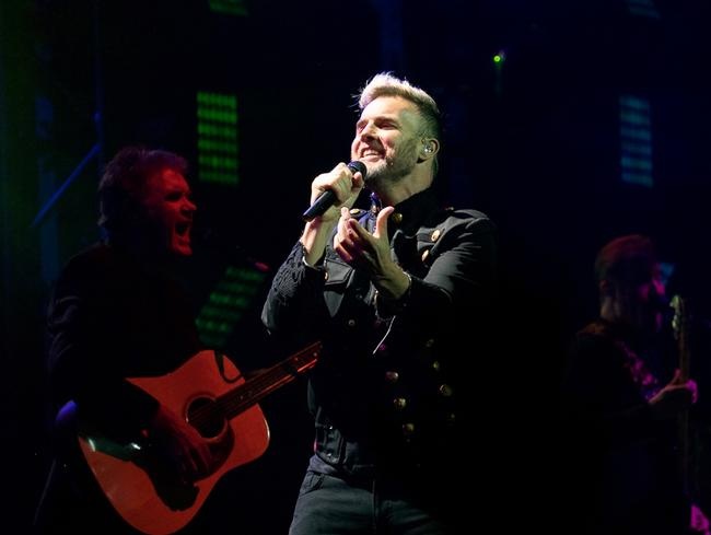 Gary Barlow of Take That in Perth on November 11. Dude can write a hit. Picture by Adrian Thomson