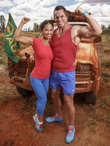 Fitness fanatics Sally and Tyson.
