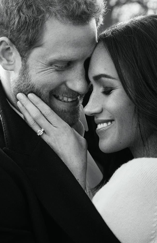 Being so publicly affectionate is not part of the royal tradition, an etiquette expert claims. Picture: Alexi Lubomirski